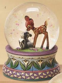 Disney Snowglobes Collectors Guide: Jim Shore Bambi Snowglobe