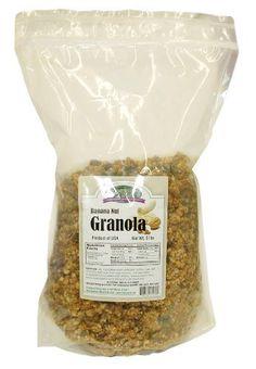 Nut Granola, 5 Pound - http://sleepychef.com/jansal-valley-banana-nut ...