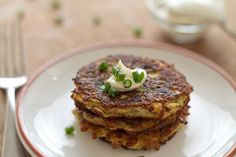 Zucchini Fritters, definitely on my diet!