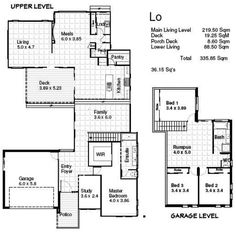 House Plans For Sloping Blocks House And Home Design