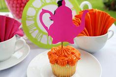 Alice in Wonderland Party Decoration by windrosie, via Flickr