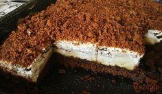 Ein schmackhafter Blechkuchen, der uns an die Maulwurftorte erinnert. Die angegebenen Zutaten sind für ein kleineres Blech.