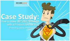 In this short case study we will take a look at a very successful JVZoo/Warrior Plus product review blog which makes on average $27K per month. Read more...