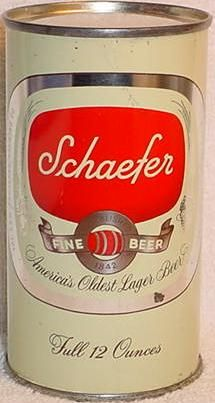 Schaefer beer glass - my Dad used to collect these