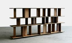 best bookcase/roomdivider for a small space to gain some much needed privacy! My Furniture, Furniture Styles, Furniture Design, Bookcase Shelves, Shelving, Shelf, Bookcases, Partition Design, Storage Design