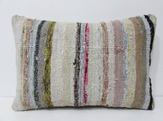 16x24 cushion floor boho Turkish kilim bohemian decorative accent throw pillow cover pillow case outdoor pillow ethnic rug Lumbar sofa 24121