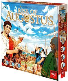Asmodee Rise of Augustus Board Game ($48.99)