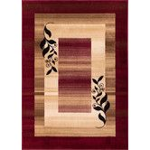 Found it at Wayfair - Barclay Red Molly Twigs Area Rug