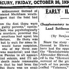 26 Oct 1934 - EARLY ILLAWARRA (Supplementary to the Story of E...