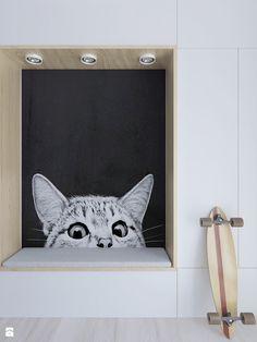 Mieszkanie w stonowanych barwach - Pokój dziecka - zdjęcie od Illa Design