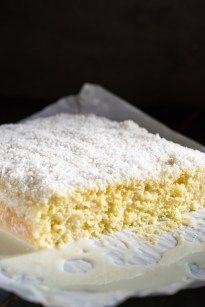 Cold Coconut Cake - Travel Cook Tell