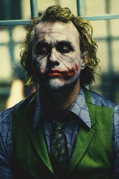 "The Joker ""why so serious?""  Batman ""BECAUSE IM BATMAN"""