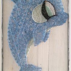 Diva Dolphin string art