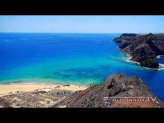 Praia do Porto Santo Uma das 7 Maravilhas de Portugal - YouTube