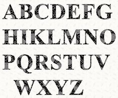 2 Inch Letter Stencils Alphabet Printable