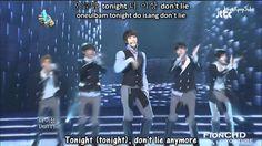 X-5 - Going crazy + Dangerous LIVE [English subs + Romanization + Hangul...