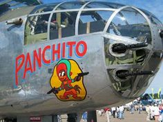 panchito aircraft nose art. Saw this plane live at the St. Lucie county air show