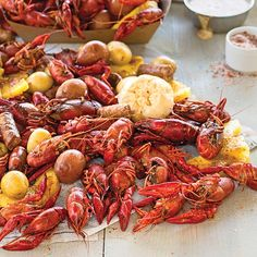 Sweet and Spicy Crawfish Boil