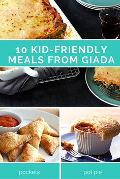 Stop stressing over dinner and serve these family favorites! Giada de Laurentiis makes back-to-school dinner planning as easy as 1-2-3 >> http://www.ulive.com/playlist/kid-friendly-dinners-from-giada