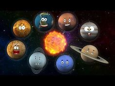 This is a catchy song for young children learning about the 8 planets.  -You Tube