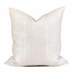 Zak and Fox Caravane PIllows in Oasis // Neutral Boho Pillow // Designer Pillow // Boutique Pillow // Traditional Linen Pillow Neutral Pillows, Blue Throw Pillows, Linen Pillows, Down Pillows, Linen Bedding, Throw Pillow Covers, Linen Fabric, Bed Linens, Bedding Sets