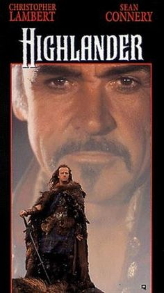 "Directed by Russell Mulcahy. With Christopher Lambert, Sean Connery, Clancy Brown, Roxanne Hart. An immortal Scottish swordsman must confront the last of his immortal opponent, a murderously brutal barbarian who lusts for the fabled ""Prize"". Beau Film, Love Movie, Movie Tv, 80s Movie Posters, Movies Showing, Movies And Tv Shows, Film Mythique, Movies Worth Watching, Cinema Movies"