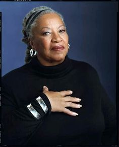 Toni Morrison, Educator and Novelist!