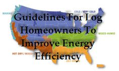 Energy Upgrades for Existing Log Homes