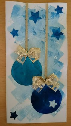 Holiday Art Projects For Toddlers Christmas Cards 15 Ideas Christmas Crafts For Kids, Holiday Crafts, Christmas Diy, Christmas Cards, Christmas Decorations, Christmas Baubles, Homemade Christmas, Preschool Christmas, Christmas Activities