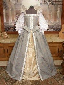 Elizabethan Renaissance Court Gown