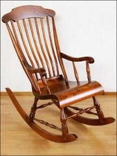 Traditional Finnish rocking chair from Nakkila in southwestern Finland (where my mom was born)