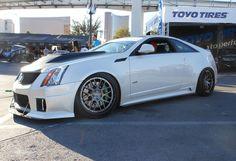 D3 Cadillac's CTS-V Coupe on Forgeline DE3C Concave wheels