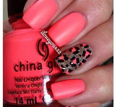 Cute girls nail design