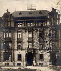 1890 körül, Baruch Sámuel háza, Bajza utca 44.