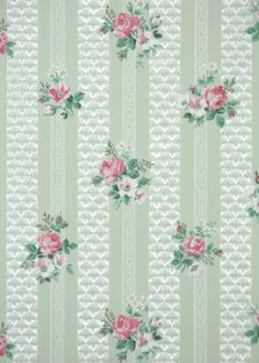 pink and green vintage wallpaper Map Wallpaper, Retro Wallpaper, Iphone Wallpaper, Wallpaper Backgrounds, Vintage Wallpaper Patterns, Pattern Wallpaper, Vintage Wallpapers, Vintage Walls, Beautiful Patterns