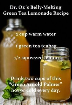Antioxidants in green tea could help increase metabolic rate and lean body mass. While green tea is a healthy beverage on its own the antioxidants get partially degraded in the body so you lose some of those benefits when the tea is weakened in this pro Detox Cleanse For Weight Loss, Detox Juice Cleanse, Full Body Detox, Smoothie Detox, Detox Drinks, Healthy Drinks, Detox Juices, Health Cleanse, Healthy Detox