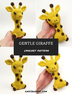 Learn how to get started with amigurumi with this crochet pattern. Create your own cute crochet Giraffe project with this easy crochet pattern! Cute and kawaii, this basic and beginner friendly DIY project is perfect for any crocheter. This stuffed animal is perfect for home decor and crafters who love going to the zoo! This stuffed doll is the sweetest and beginner friendly project! Make your own for friends, family, and holiday crochet. On Etsy and Ravelry. Holiday Crochet, Halloween Crochet, Beginner Crochet Projects, Crochet For Beginners, Cute Crochet, Crochet Dolls, Giraffe Crochet, Thing 1, Easy Crochet Patterns