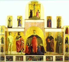 59. Poliptyk Madonny Miłosierdzia, Piero della Francesca, Borgo Sna Sepolcro