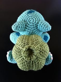 Bulbasaur, Pokemon, Amigurumi
