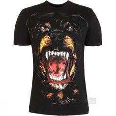 Indie Designs Rottweiler Series Print T-Shirt