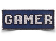 J!NX : Gamer Iron-on Patch