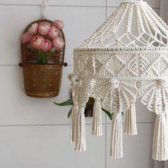 Macrame Design, Macrame Art, Macrame Projects, Macrame Knots, Macrame Mirror, Macrame Curtain, Macrame Plant Hangers, Boho Diy, Boho Decor