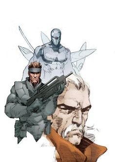 Metal Gear Solid by Ben Oliver *