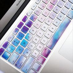 Macbook Keyboard Cover - Sky Marble