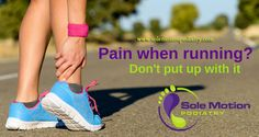 Do you get pain when running?? Don't put up with it or let it stop you from smashing your goals!  We love helping people get better and STAY better - give our awesome team a call today! 1300-FX-FEET :)