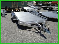 Car Hauler Trailer, Atv Trailers, Suv Trucks, Utility Trailer, Extruded Aluminum, Aluminum Wheels, Truck Accessories, Bed Sizes, Things To Sell