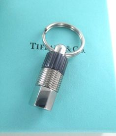 d21dee216 Tiffany & co. paloma picasso key ring keychain pendant stainless steel &  steel