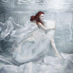breathing underwater |Marmorin underwater campaign 2014     Krysia Ksiezyk