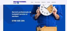 Creare web site pentru firma de instalatii sanitare 2 Web Design, Design Web, Website Designs, Site Design