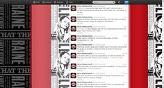 Seleção de Tweets produzidos para o News Restaurante.
